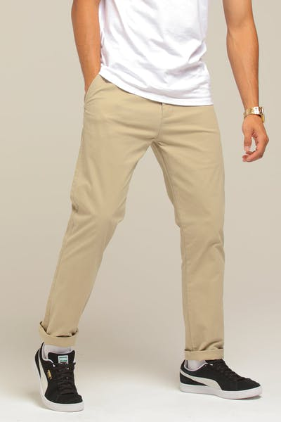 New Slaves Slim Fit Chino Beige