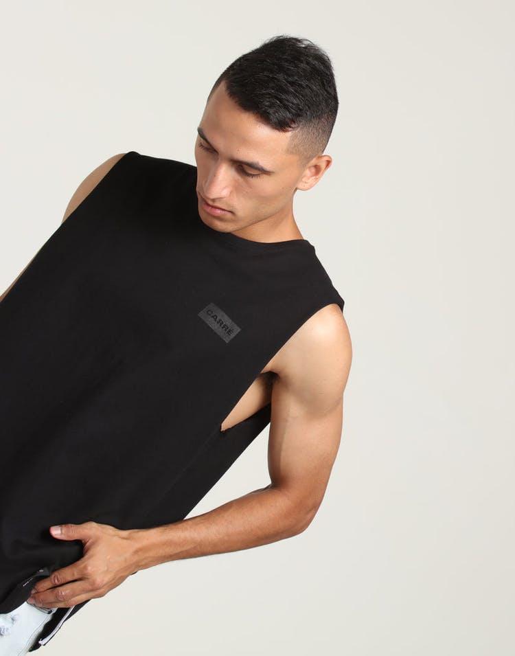 43ed15b97 Carré Responsive Invert Divise Muscle Tee Black – Culture Kings