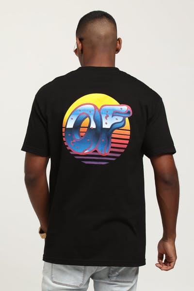 229ca9e1830a Odd Future X Culture Kings Neon Sunrise Tee Black