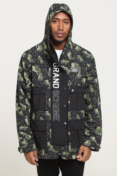 Grand Scheme Undetectable Cargo Jacket Black/Green