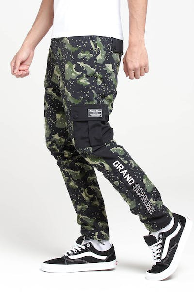 Grand Scheme Undetectable Cargo Pants Black/Green