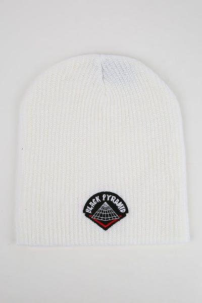e60ea5122a5 Black Pyramid Drip Logo Oversize Scully White
