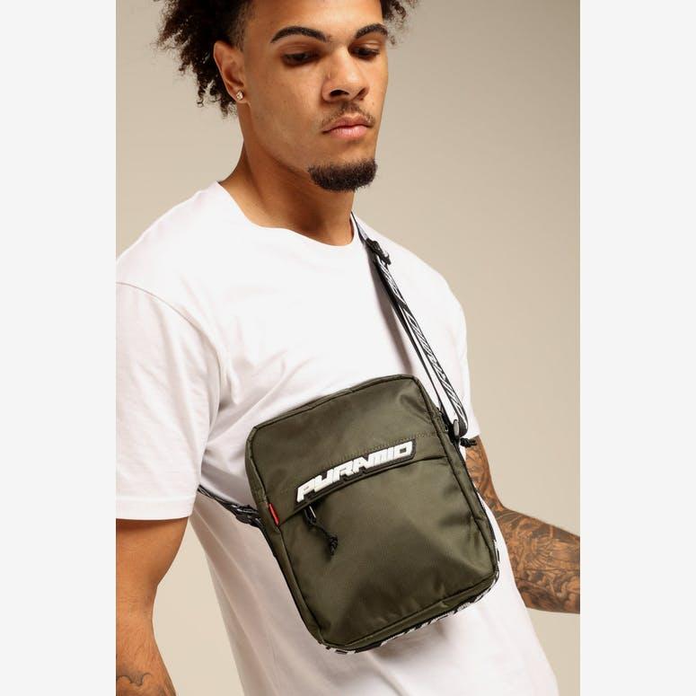 9ec720de2e Black Pyramid Shoulder Bag Olive – Culture Kings
