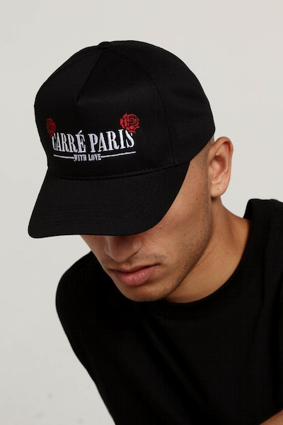 Carré With Love Snapback Black