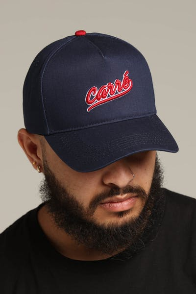 Carré Undefeated Snapback Navy