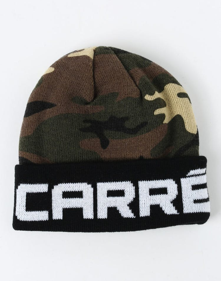 Carré Marked Beanie Camo