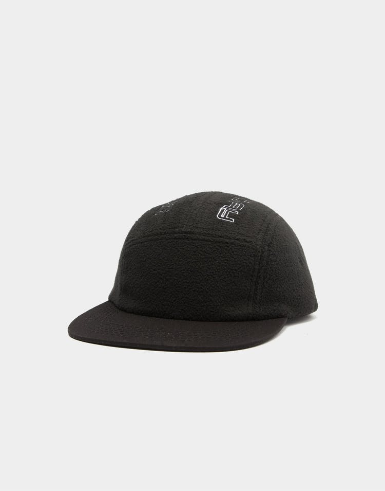 Draft Day Fleeced 5-Panel Strapback Black