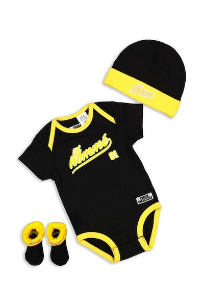Lil Hommé LH Undefeated Set Black/Yellow