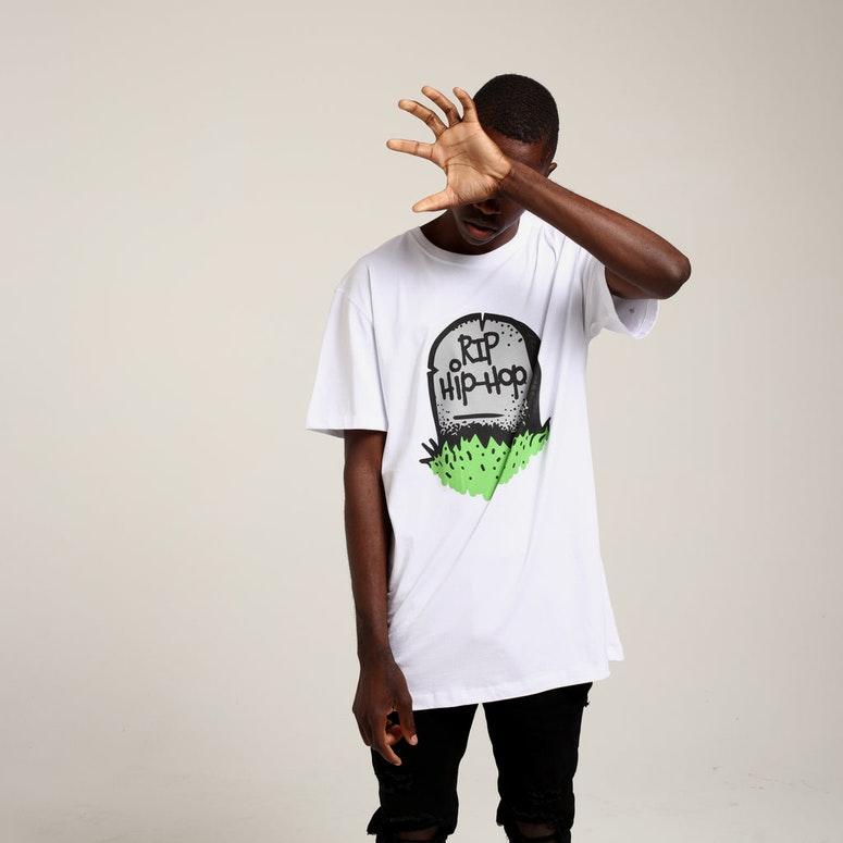 Goat Crew RIP Hip-Hop SS Tee White