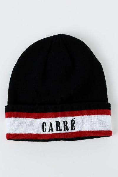 83790400e65 Carré LA Laine Beanie Black White Red