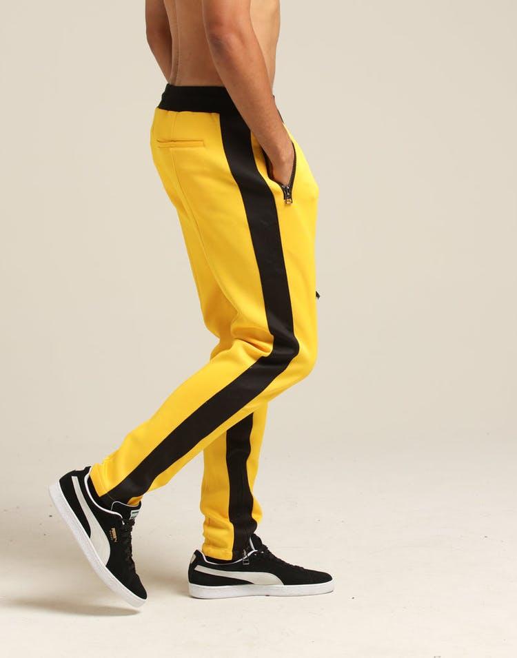 sports shoes e880b b6f19 Dim Mak Bruce Lee Track Pant Yellow