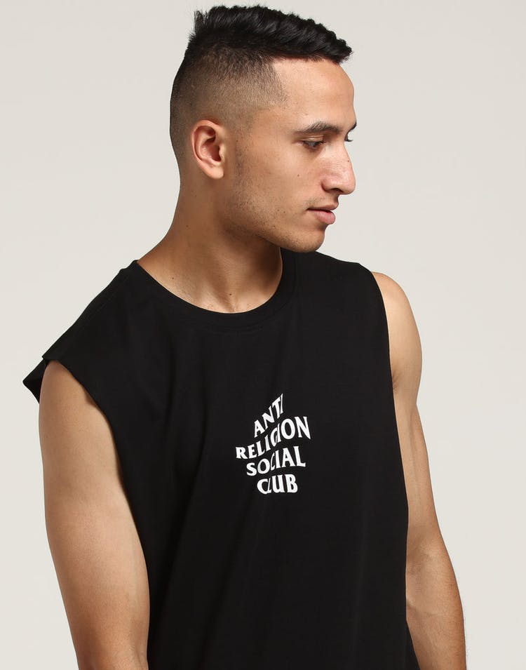 be151f86 Goat Crew Anti Religion Muscle Tee Black – Culture Kings