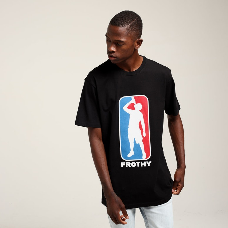 Goat Crew Frothy SS Tee Black