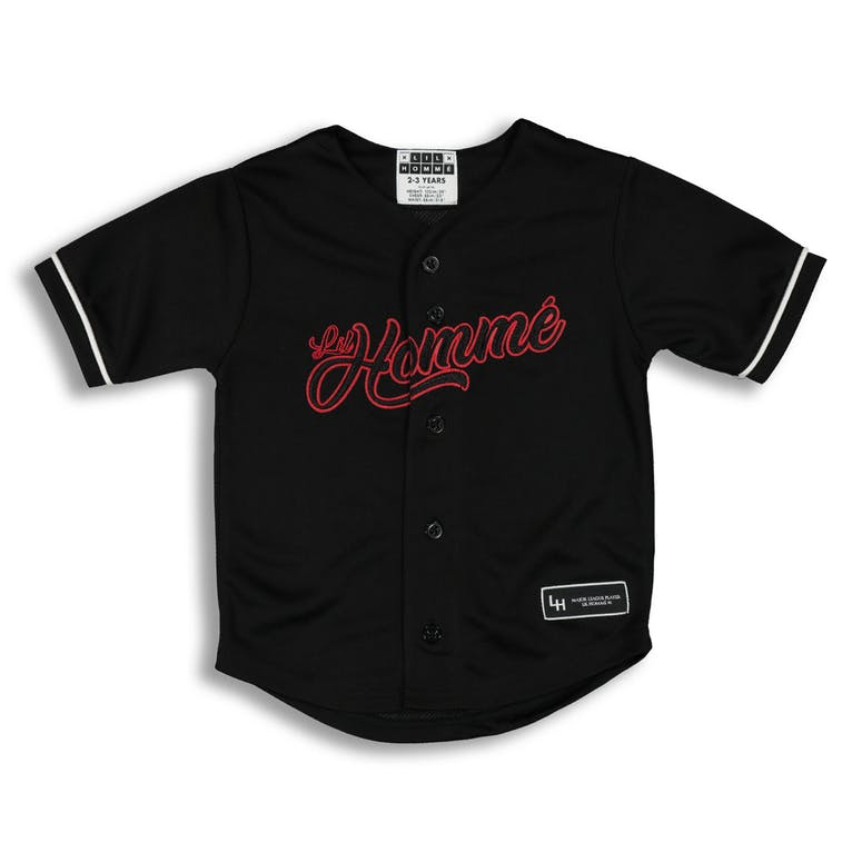 Lil Hommé Ligue Baseball Jersey Black