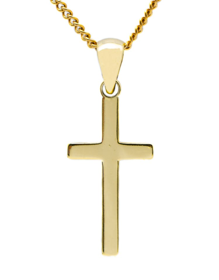 Lil Hommé LH 18K Cross Necklace Gold Plated