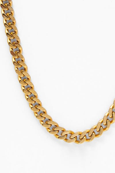 Lil Hommé 18K 5mm Rogue Cuban Chain Gold Plated