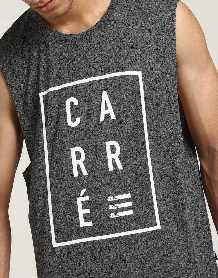 Carré Boxed Font Statique Muscle Charcoal