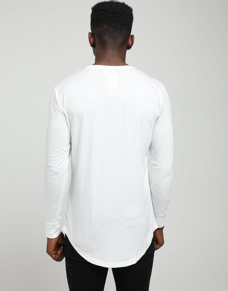 Emperor Apparel Emperor LS Scoop TShirt White