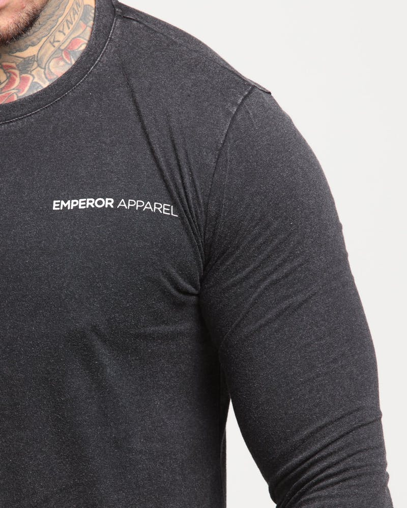 Emperor Apparel Emperor LS Scoop TShirt Acidwash