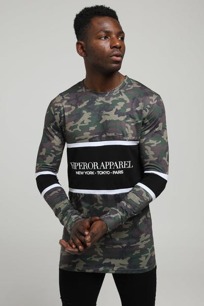 20a97fb7 Emperor Apparel Times Tshirt Camo/Black