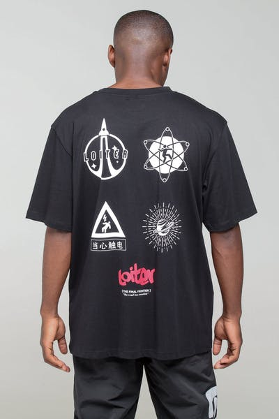 Loiter NYC Induction Tee Black
