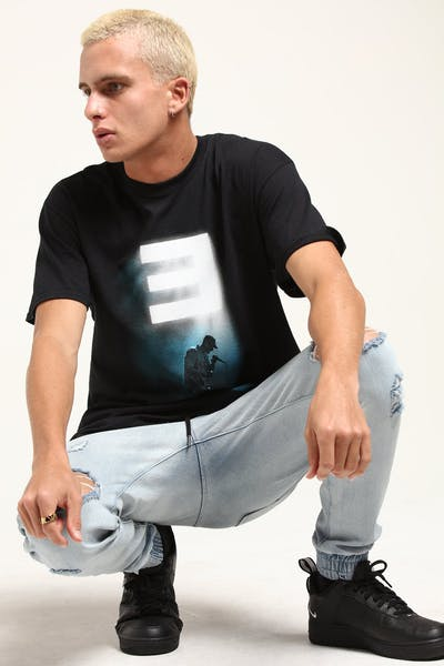 Eminem Stage Lights Tee Black