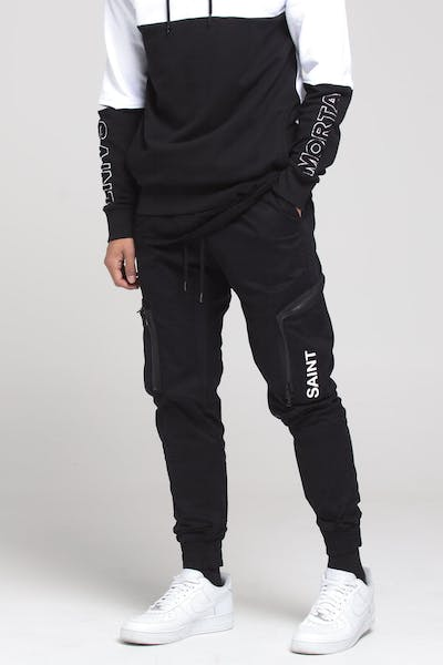 Saint Morta Commando Jogger Black