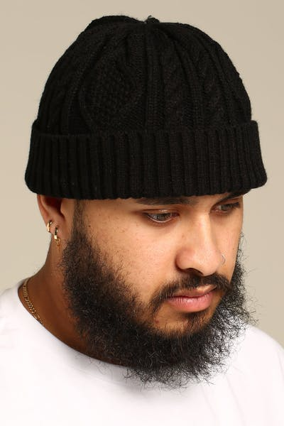 New Slaves Skipper Beanie Black