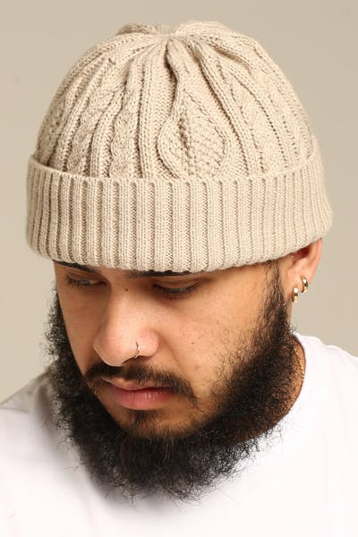 New Slaves Skipper Beanie Stone