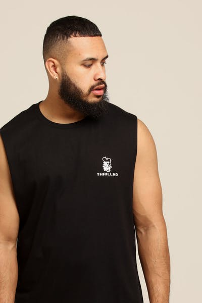 Goat Crew Thrillho Muscle Tee Black