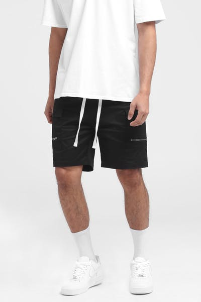 New Slaves Soldier Shorts Black