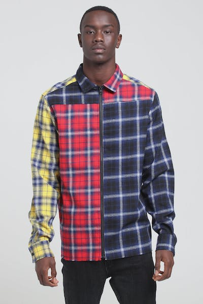New Slaves Ballistic Flannel Shirt Multi-Coloured