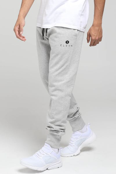 Elevn Hex Trackpant Grey Marle