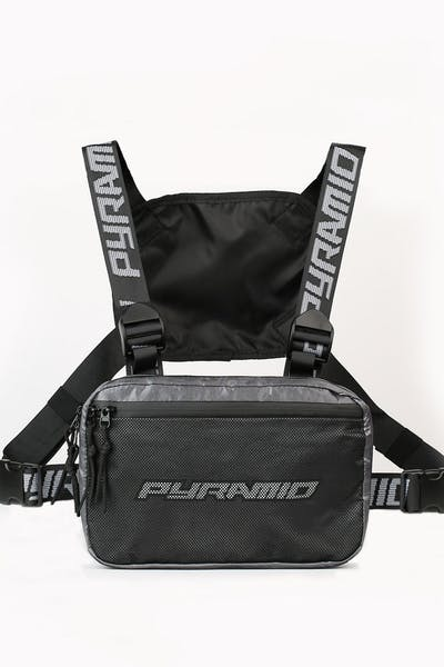 Black Pyramid Chest Rig 2.0 Silver