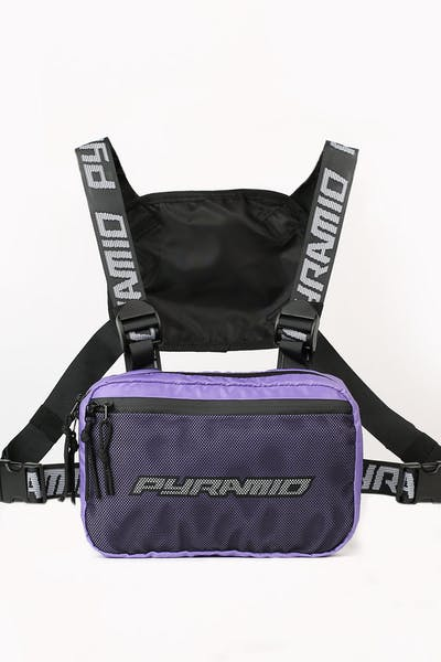 Black Pyramid Chest Rig Purple