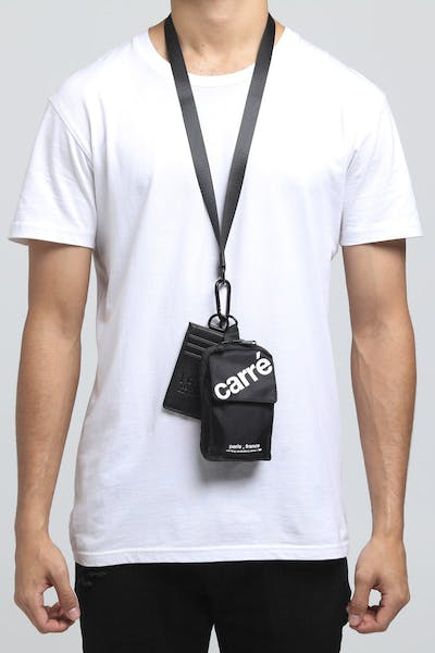 Carré Informed Lanyard Bag Black