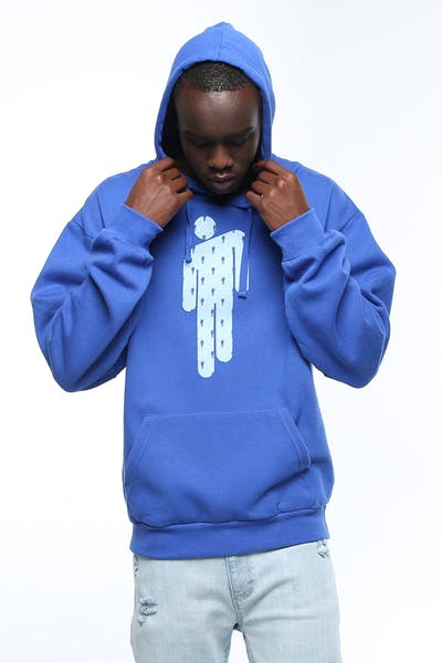 Billie Eilish logo Hood Blue