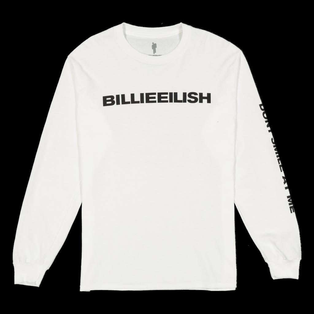 Billie Eilish Don't Smile At Me LS White