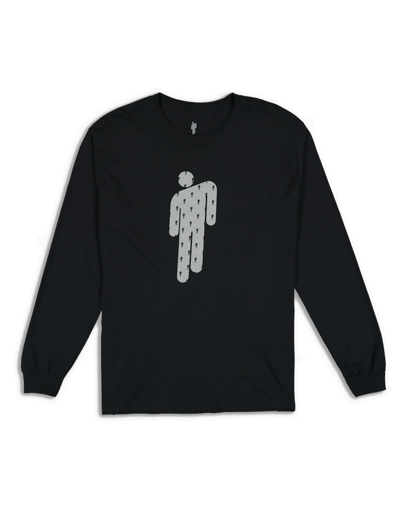 Billie Eilish Logo LS Tee Black