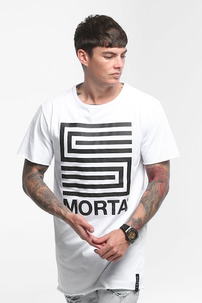 Saint Morta Future Tall Tee White/Black