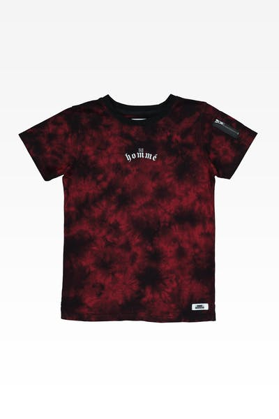 Lil Hommé Risk Zip Tee Black/Red
