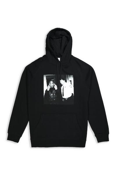 Tupac Photo Finger Hood Black