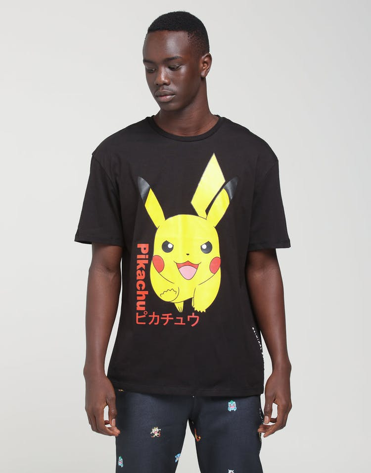 dc1f4a71 Criminal Damage | X Pokémon Pikachu Tee Black | Mens | Brand New Loot –  Culture Kings