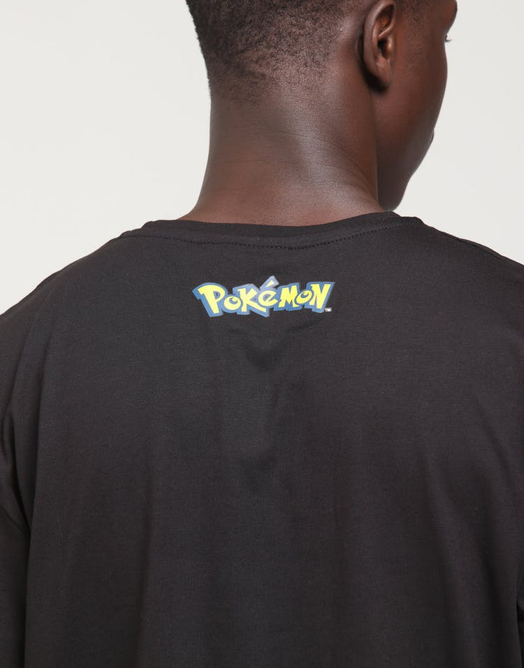 7e7c68a1 Criminal Damage | X Pokémon Pikachu Tee Black | Mens | Brand New ...
