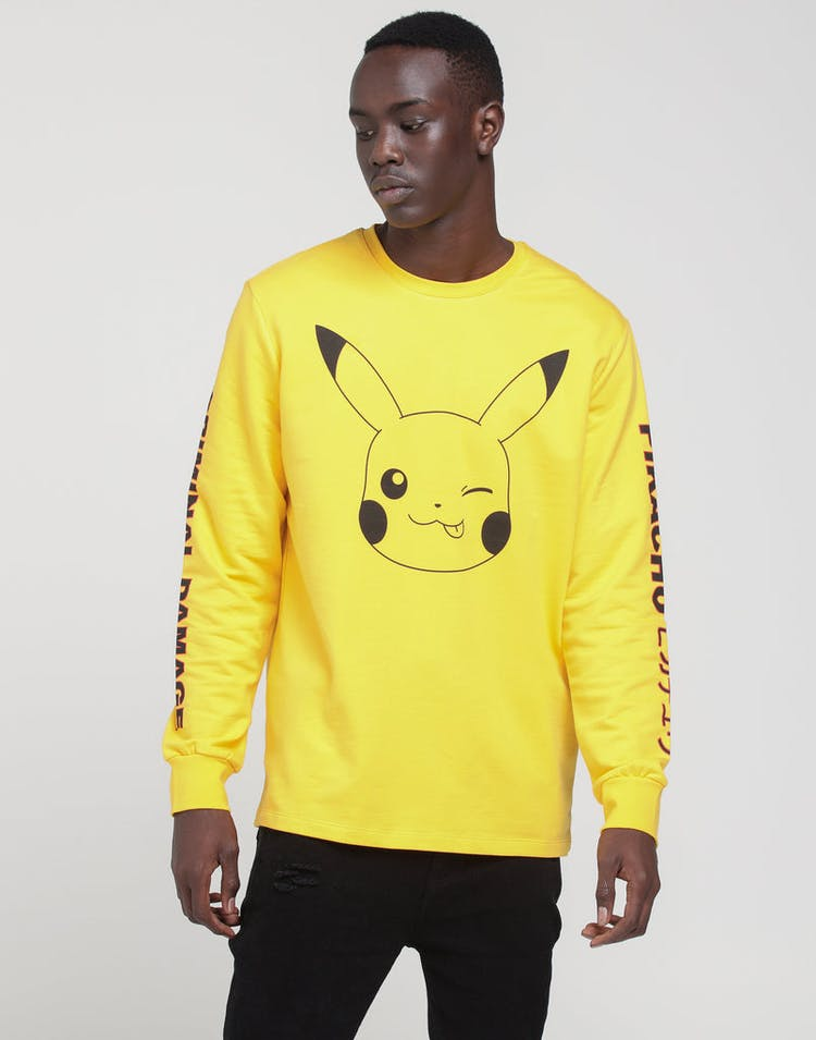 0cb14f80 Criminal Damage X Pokémon Pikachu LS Top Yellow – Culture Kings