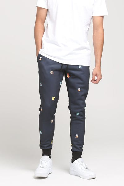POKÉMON REPEAT JOGGER PANT BLACK