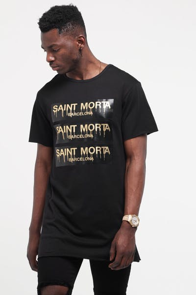 Saint Morta Sweet Revenge Tall Tee Black/Gold