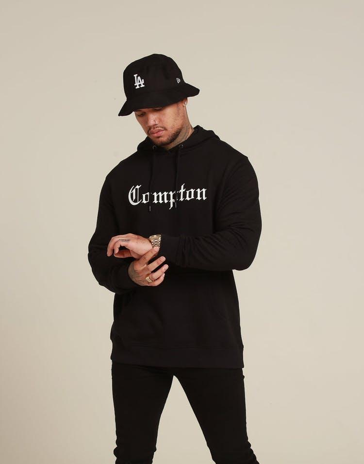 Goat Crew Compton Hood Black