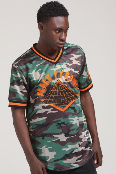 BLACK PYRAMID PYRAMID JERSEY CULTURE KINGS Orange