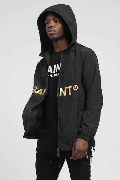 Saint Morta Originals Windbreaker Black/Gold